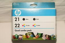 C9509FN Genuine HP 21+22 Ink Cartridges - - Black//Tri-Color Combo Pack New