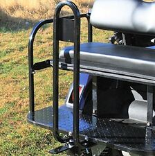 Rear Seat Trailer Hitch with Receiver & Grab Bar for Back of Golf Cart Rear Seat