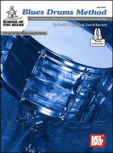 Details about Blues Drums Method Sheet Music Book/Audio Learn How To Play  Drumset Drum