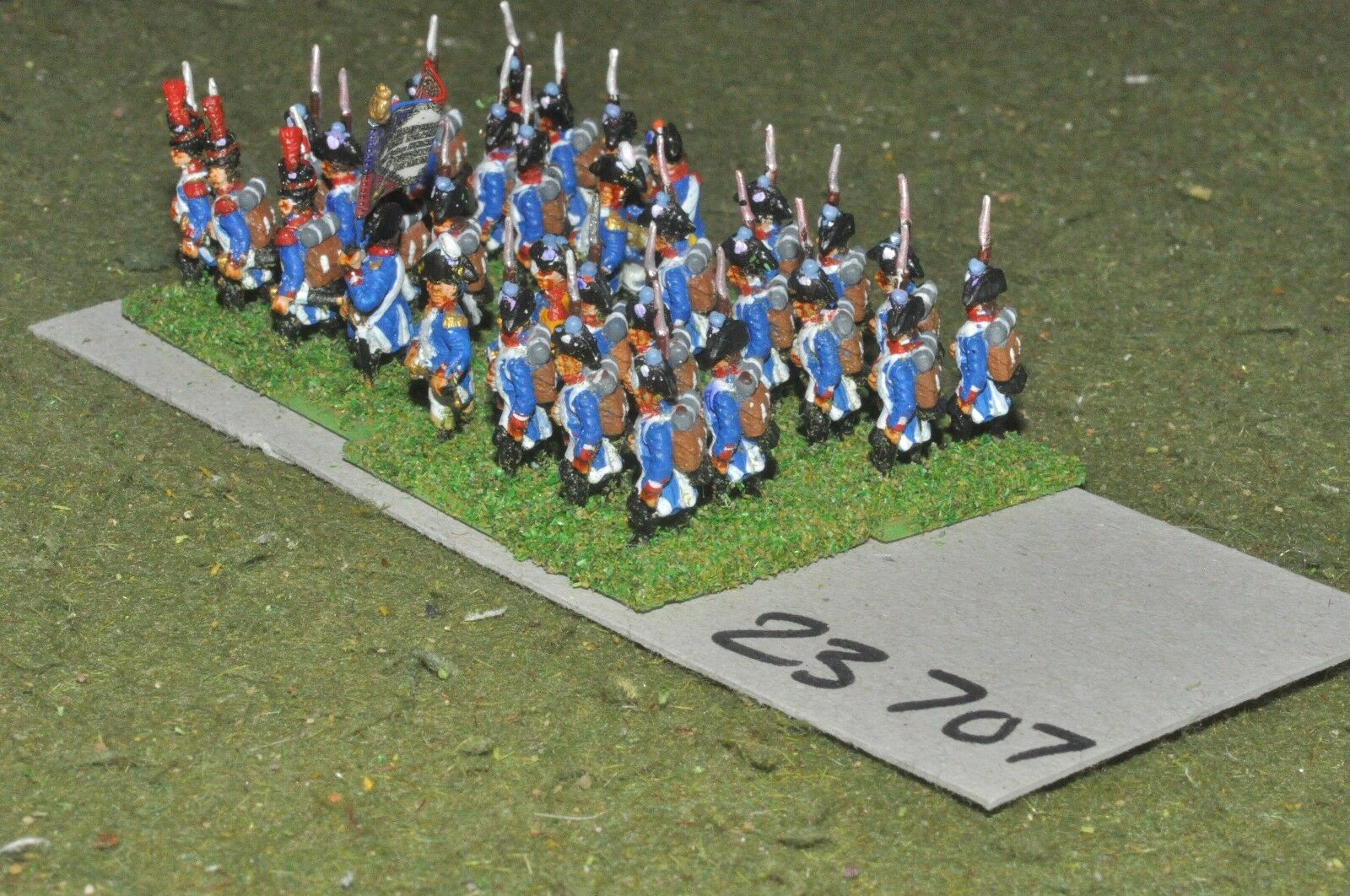 15mm napoleonic   french - line 32 figures - inf (23707)