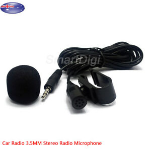 Car-Stereo-3-5mm-Stereo-Radio-External-Mic-for-Wireless-GPS-Stereo-Receiver