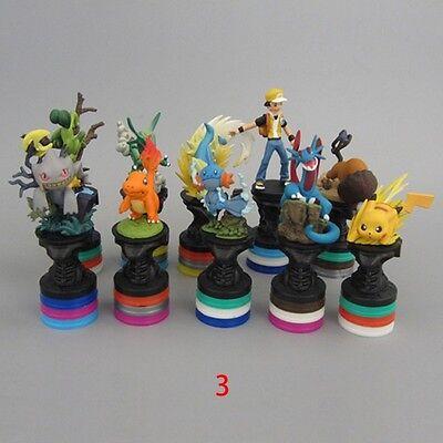 10pcs Pokemon Charmander Mudkip Pikachu Rayquaza 6cm-9cm PVC Mini Figure Toy #3