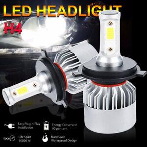 AUTOVIZION COB H4 HB2 9003 200W 20000LM LED Headlight Kit Hi//Lo Bulbs 6500K