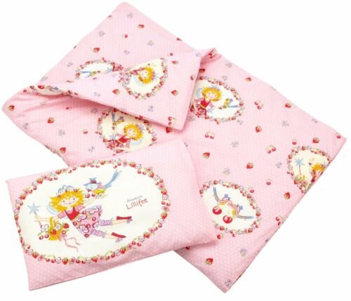 Bierbaum Babybettwäsche Prinzessin Lillifee Cherry Kirsche 40 x 60 100x135 cm