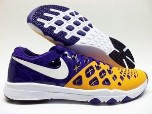 purchase cheap 6a163 1fdb9 Image is loading NIKE-TRAIN-SPEED-4-AMP-034-LSU-TIGERS-