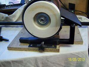 Grinder Tool Rest 100mm X 70mm Wood Chisel Sharpening Jig