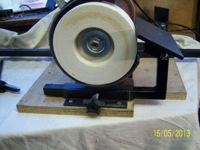 wood turning chisel sharpening Jig Grinder tool rest