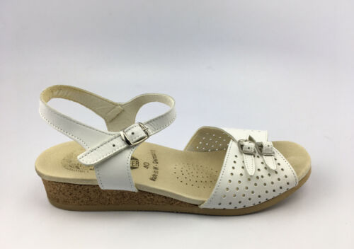 Worishofer Original Footprints White Leather Ankle