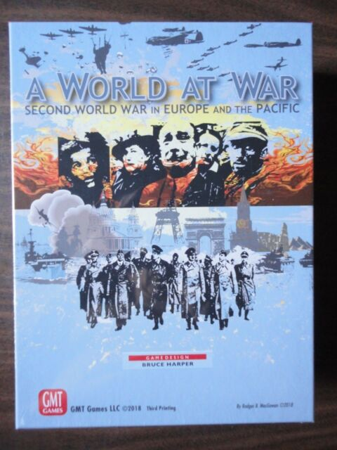 A World at War 3rd Printing by GMT 2018 mint in shrink