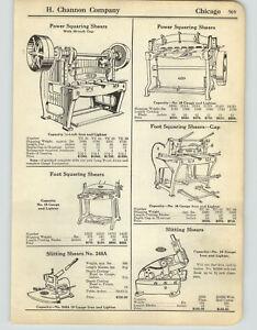 1925-PAPER-AD-6-PG-Tin-Worker-Tinner-Tools-Shears-Brake-Folding-Machine-Burring