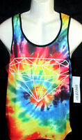 Mens Ring Of Fire Tank Top T-shirt Size M