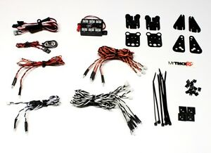 Genuine-MyTrickRC-MYK-TD1-Traxxas-Defender-Light-Kit-w-Controller-14-LED-039-s