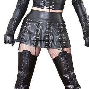 Details about Plus Size Pvc Latex Women\'s Shiny Liquid Metallic Wet Look  Dress Rivet Bandage