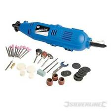 New Multi Purpose Rotary Craft Hobby Tool 135W Dremel Compatible By Silverline