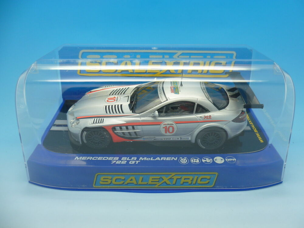 Scalextric C3116 Mercedes SLR Scalextric Club Car 2010