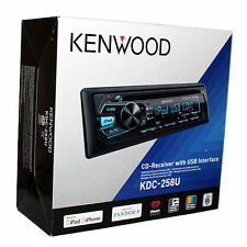 kenwood kdc-258u in dash receiver
