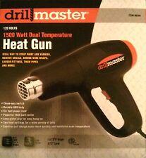 1500 Watt Drill Master heat gun for:solar encapsulant EVA, heat shrink tubing,