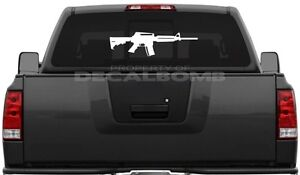 """sticker  /"""" Choose Size /"""" hunting shooting army navy M4 Carbine decal"""