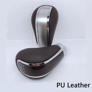 5-Speed-Car-Gear-Stick-Styling-Transmission-Knob-Shifter-Level-PU-Leather-Metal