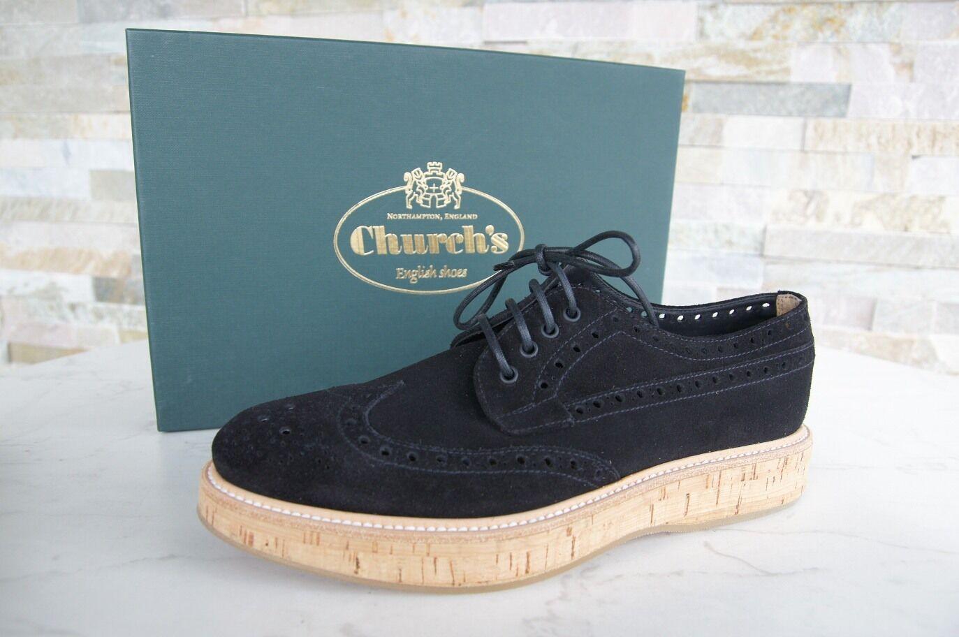 Church's Dimensione 38 Budapest Lace up scarpe  Keely nero New Precedentemente  negozio online