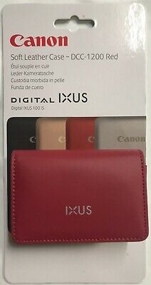 Canon DCC-70 Soft Leather Case For IXUS 700 750 800 850 IS 860 Digital Camera
