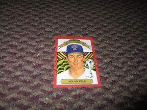 Donruss #665 King of Kings Nolan Ryan Rangers 1989 Baseball Card - Hall of Famer