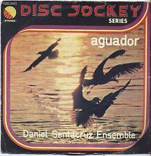 """DANIEL SANTACRUZ ENSEMBLE - Aguador - VINYL 7"""" 45 LP ITALY 1975 VG/VG- CONDITION"""