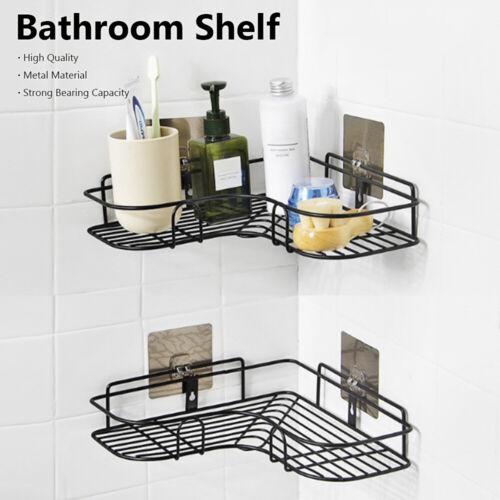 Gel Kitchen Adhesive Bathroom Shelf Shampoo Holder Organizer Storage Rack