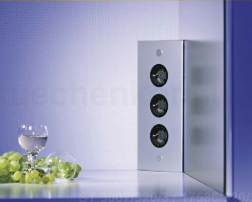 Thebo Ecksteckdose ST 3007//320//3 Verteilerbuchse  Edelstahl Energiebox PowerPort