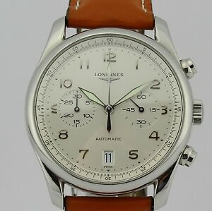 Longines-Master-Collection-Chronogrpah-Limited-edition-310-0390-Automatic-Steel