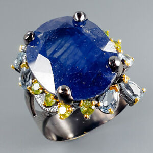 35ct-Expensive-Natural-Blue-Sapphire-925-Sterling-Silver-Ring-Size-8-5-R115008