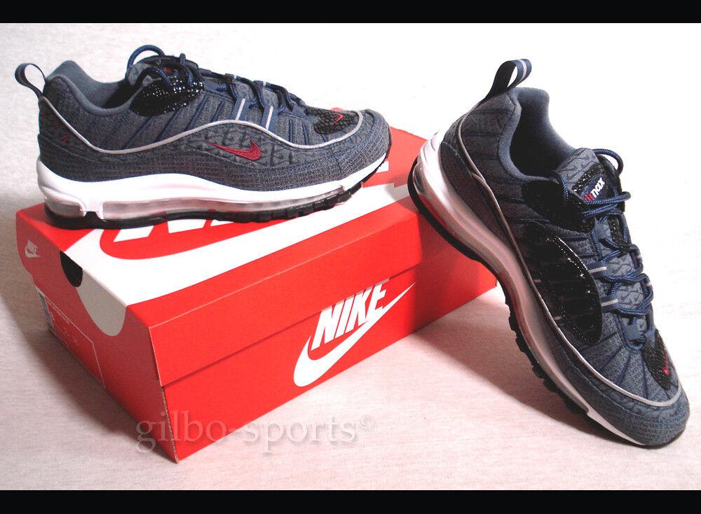 Nike Air Max 98 QS Thunder Blau Selten Gr. 40 40,5 41 Neu 924462 400 97