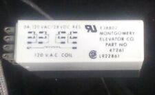 New Listingmontgomery Elevator Co 47261 Solid State 14 Pin Timer Relay 2 To 10 Sec 120vac