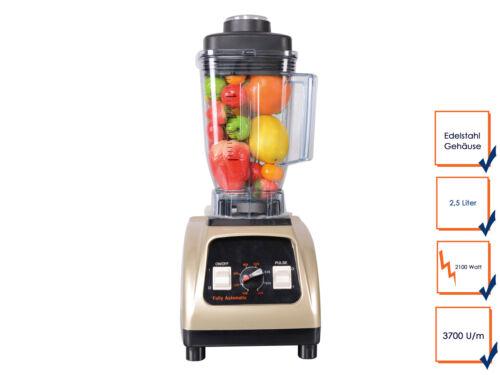 Gastro Standmixer 2100 Watt Profi Blender Cocktail Bar Smoothie Mixer Maker