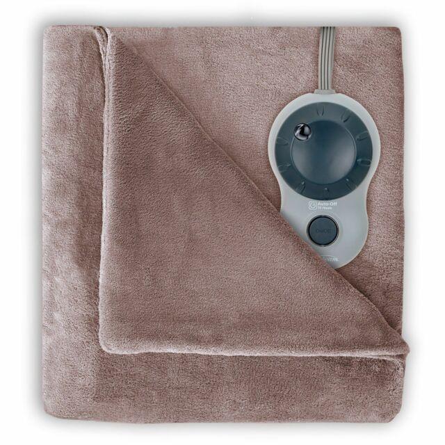 Sunbeam Velvet Plush Heated Blanket, King Size  BSV9GKS-R772