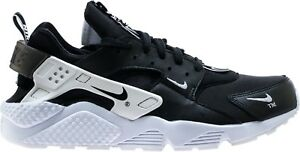 pretty nice 72b31 ff31c Image is loading Nike-Air-Huarache-Run-Premium-Zip-Black-Black-
