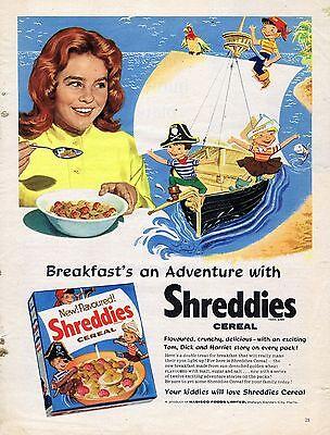 Vintage Food Advertising poster  A4 RE PRINT  Shreddies