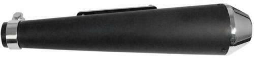 Emgo Flat Black Universal Reverse Cone Shorty Muffler 80-84030C 1811-3020