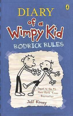 1 of 1 - Rodrick Rules: Diary of a Wimpy Kid 2 by Jeff Kinney  (Paperback, 2008) NEW