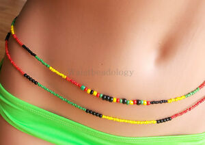 Waist-Beads-Queens-and-Kings-Double-Strand-Red-Green-Yellow
