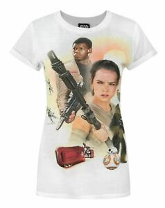 Star-Wars-Force-Awakens-Heroes-Sublimation-Women-039-s-T-Shirt