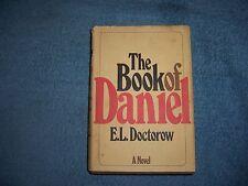 THE BOOK OF DANIEL by E. L. Doctorow/1st Ed/HCDJ/Literature &Fiction/Adventure