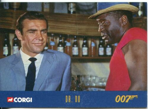James Bond Corgi Cars Exclusive Trading Card #2 Dr No