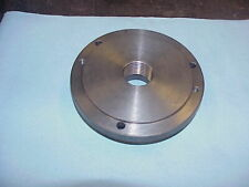 Atlas Craftsman Lathe Threaded Back Plate Adapter 6 3 Hole With 1 12 8 Thread