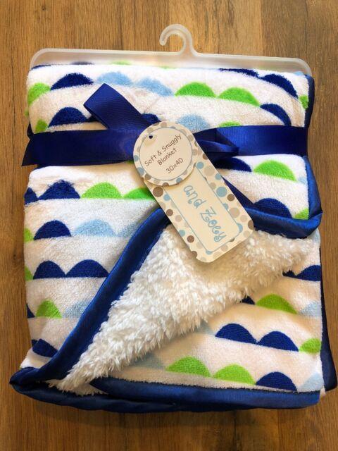 """30/"""" x 40/"""" Ultra Soft Plush Fleece Blanket for Girls Boys Baby Blanket"""