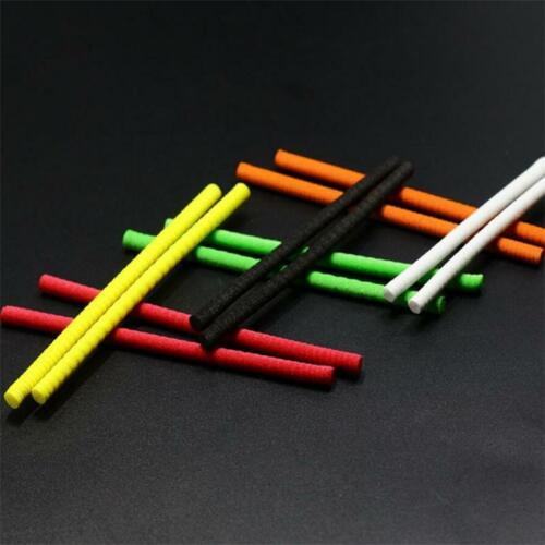 6colors 10pcs Foam Parachute Posts 3mm Fly Tying Foam Cylinders Floating Hoppers