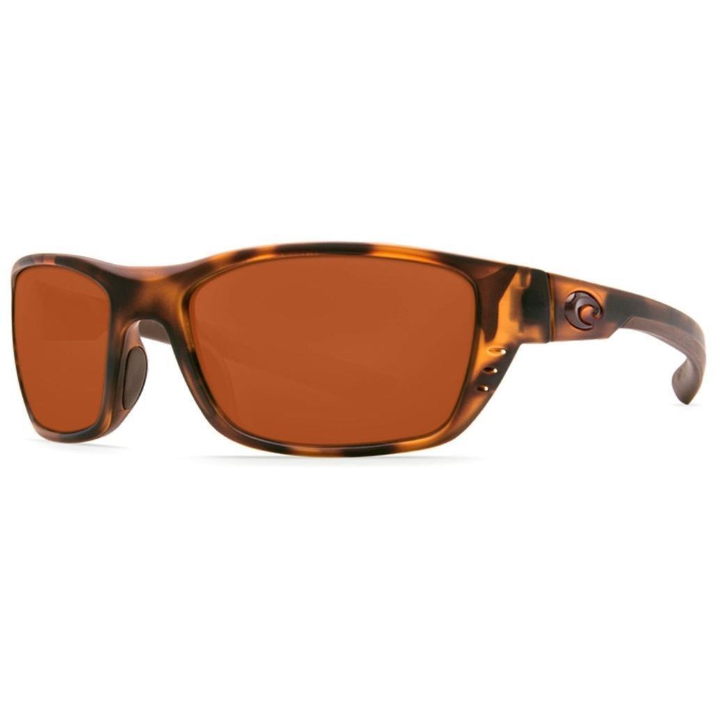 Costa Del Mar Whitetip Sunglasses Polarized Retro Tortoise Amber 580P White Tip
