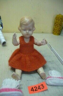 Zuversichtlich 4243. Alte Puppe Spielzeug Perfekte Verarbeitung