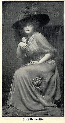 Atelier d' Ora Wien  ( Hilda Radnay ) Historische Aufnahme von 1912