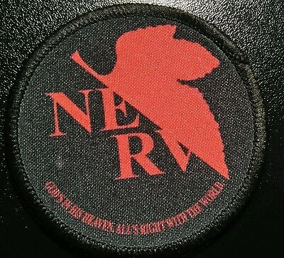 NERV EVANGELION Patch parche anime manga ayanami asuka